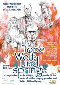 """Kultur in der Klosterkirche """"Tobe Welt und springe"""""""