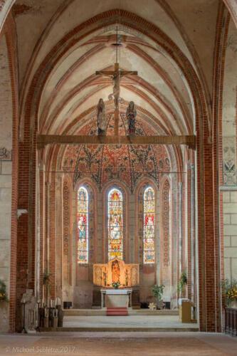 muehlberg klosterkirche innen chor4 hdr