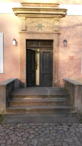 Aebtissinnenhaus-Eingang